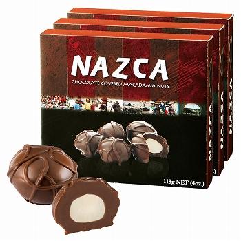 ペルーお土産   ナスカ チョコレート 3箱セット【172123】