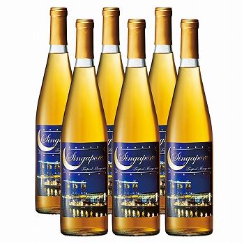 シンガポールお土産 | シンガポール マンゴーワイン 6本 フルーツワイン 【R66504】