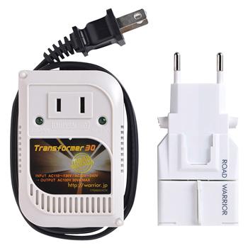 旅行用品 | ゴーコン (海外用 電源変換プラグ)& 変圧器セットRW108【T46470】