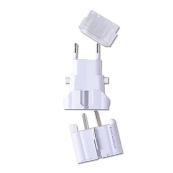 旅行用品 | ゴーコン アルファ 海外用 電源変換プラグ ホワイト【T46452】