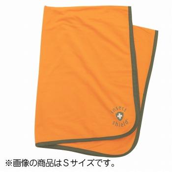 旅行用品 アウトドア | インセクトシールド 虫よけブランケット M(122×142cm) オレンジ 1枚【T44623】