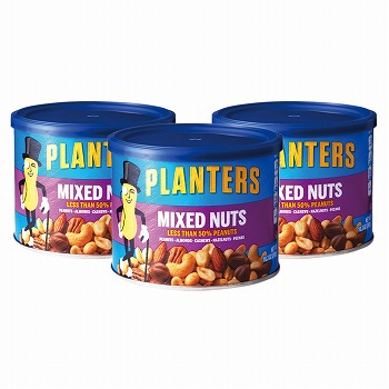 アメリカお土産 | プランターズ ミックスナッツ3缶セット 【182031】