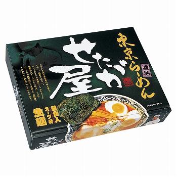 東京土産 | 東京らーめん せたが屋 醤油ラーメン 4食入り【J17108】