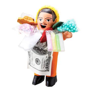 ペルーお土産   エケッコおじさん人形 (エケコおじさん)【182125】