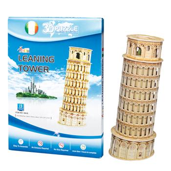 イタリアお土産 | 3Dパズル 立体パズル ピサの斜塔【161537】