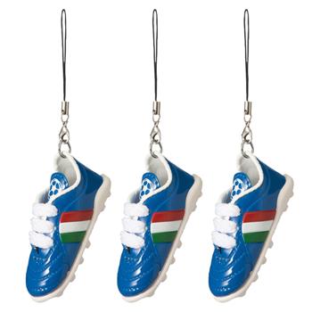 イタリアお土産 | イタリア サッカースパイクストラップ 3個セット 【151611】