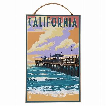 アメリカお土産 | ウエストコースト ウッドプラーク カリフォルニアピアー【172055】