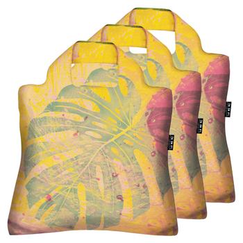 ハワイ・グアム・サイパンお土産 | エンビロサックス モンステラ柄 3個セット【173090】