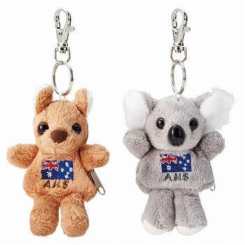 オーストラリアお土産 | コアラ&カンガルーコインケース 2種セット【175036】