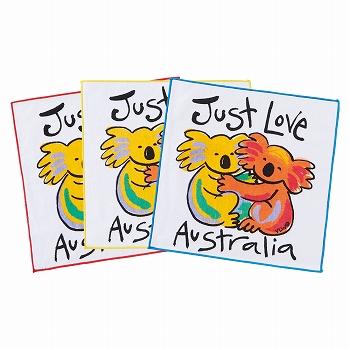 オーストラリアお土産 | オーストラリア タオルハンカチ【175041】