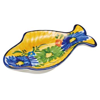 スペインお土産 | スペイン魚型小皿【181188】
