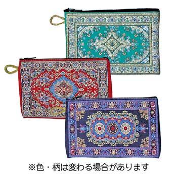 トルコお土産   絨毯柄ポーチ 3個セット【181313】