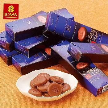 [イタリアお土産]イカム ミニデザートチョコレート 20箱セット【151068】