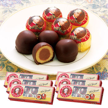 オーストリアお土産 | モーツァルト チョコレート 6箱セット【171233】