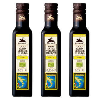 イタリアお土産 | アルチェネロ オーガニックエキストラバージンオリーブオイル 3本セット 【151594】