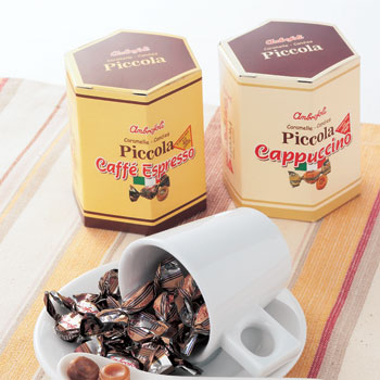イタリアお土産 | アンブロッソリー カプチーノ&エスプレッソキャンディ 6箱セット【161520】