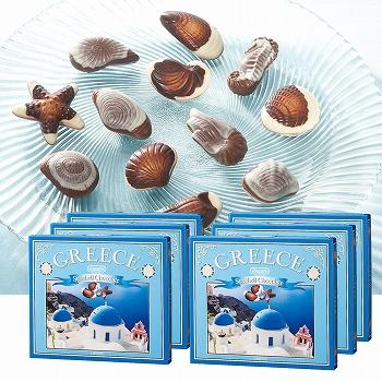[ギリシャお土産]ギリシャ チョコレート 6箱セット【151342】