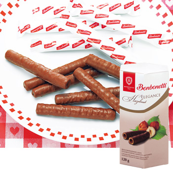 [ハンガリーお土産]ハンガリー チョコロールクッキー 6箱セット【151266】