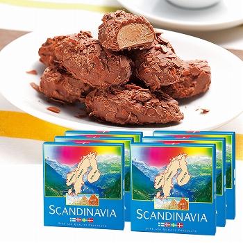 北欧お土産 | スカンジナビア フレークトリュフチョコレート 6箱セット【181282】