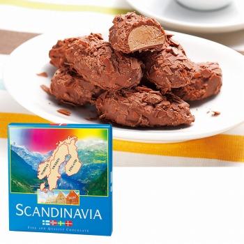 北欧お土産 | スカンジナビア フレークトリュフチョコレート 1箱 【105408】