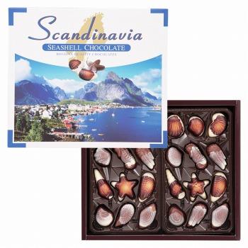 [賞味4/15]北欧お土産 | 北欧 シーシェル チョコレート 1箱 【105409】
