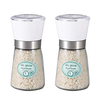 フランスお土産   ゲランドの塩 ミル付き 2個セット【171073】