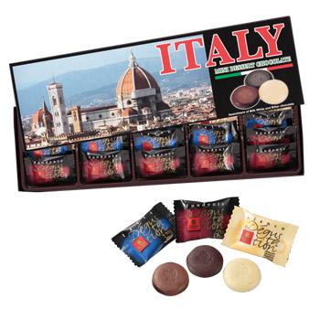 [イタリアお土産]フィレンツェ アソートチョコレート 6箱セット【151067】