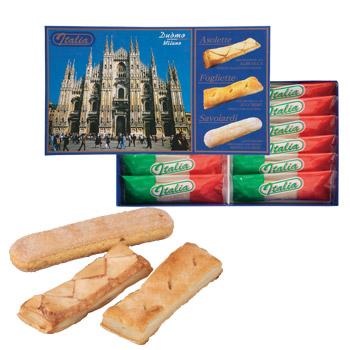 [イタリアお土産] イタリア フィンガーパフ 1箱 【105014】