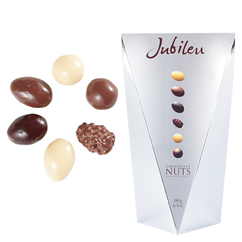 [ポルトガルお土産]ポルトガル ジュビロナッツチョコレート 3箱セット【151211】