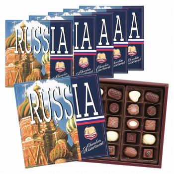 ロシアお土産   ロシア アソートチョコレート 6箱セット【171257】