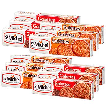 [フランスお土産]サンミッシェル ガレットクッキーセット 12箱セット【151027】