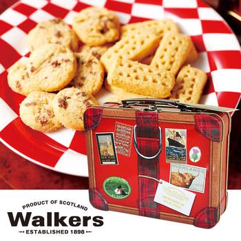 [イギリスお土産]ウォーカー スーツケース缶【151161】