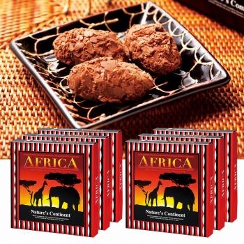 アフリカお土産 | アフリカ フレークトリュフ チョコレート 6箱セット【181328】