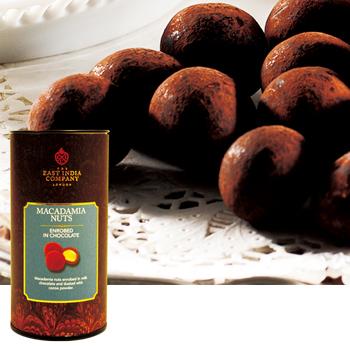 [イギリスお土産] 東インド会社 ロイヤル マカデミアナッツチョコレート 1缶 【151164】