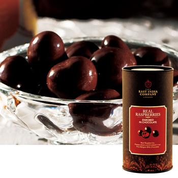 [イギリスお土産] 東インド会社 ロイヤルラズベリーチョコレート 1缶 【151166】