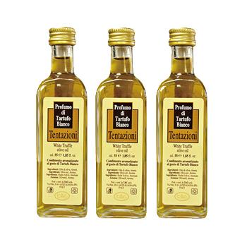 イタリアお土産 | 白トリュフ風味オリーブオイル 3本セット 【151580】