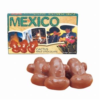 メキシコお土産 | メキシコ カクタス チョコレート【182094】