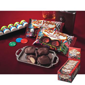 アメリカお土産 | ラスベガス マカデミアナッツチョコレート 18袋セット【182037】