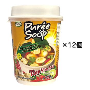 タイお土産 | トムヤムマッシュルームスープ 12個セット【176016】