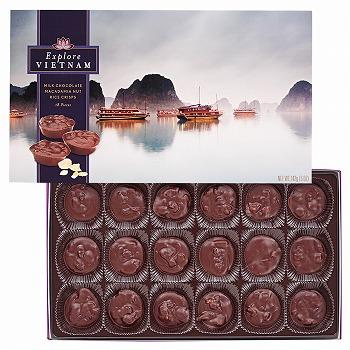 ベトナムお土産 | ベトナム ハロン湾チョコクラスター【186025】
