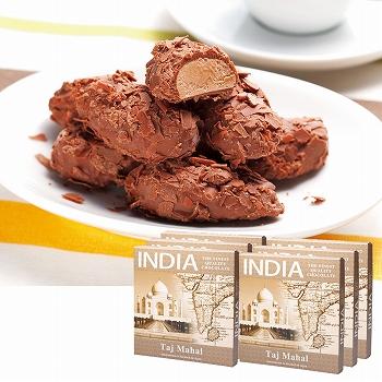 インドお土産 | インド フレークトリュフチョコレート 6箱セット【176108】
