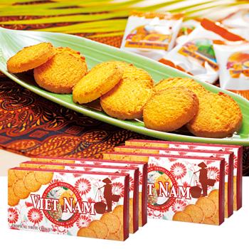 ベトナムお土産 | ベトナム フルーツクッキー 6箱セット【186027】