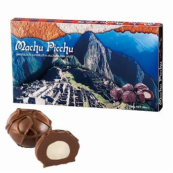 ペルーお土産   マチュピチュ マカデミアナッツチョコレート【182118】