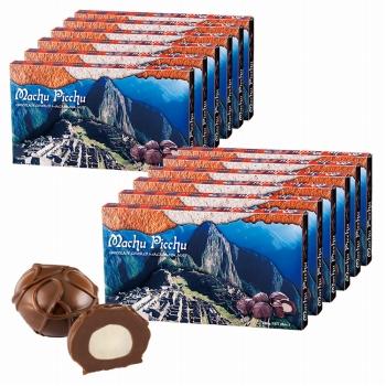 ペルーお土産   マチュピチュ マカデミアナッツチョコレート 12箱セット【182120】