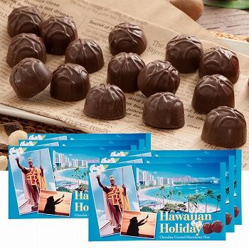 ハワイアンホリデー マカデミアナッツ チョコ 6箱セッ