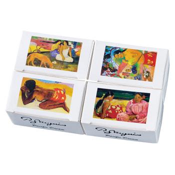 タヒチお土産 | ゴーギャン コーヒービーンズチョコレート 4箱セット【184099】