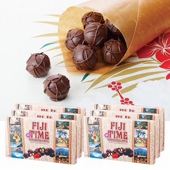 フィジーお土産 | FIJI TIME チョコレート 6箱セット【185086】