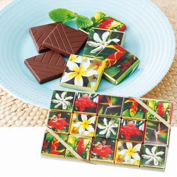 トロピカルフラワー (ティアレフラワー) チョコレート【172115】