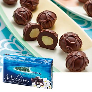 モルディブお土産 | モルディブ マカデミアナッツチョコレート【174036】