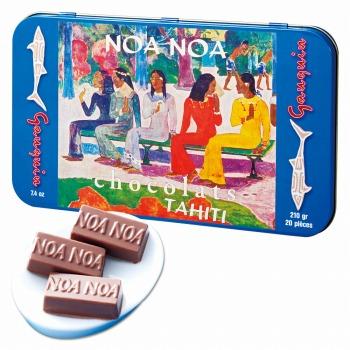 タヒチお土産 | ノアノア チョコレート 1缶【174107】